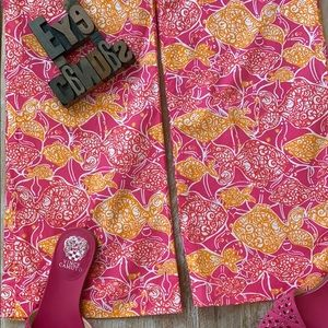 🌴LILLY PULITZER Jubilee Flair Leg Pants